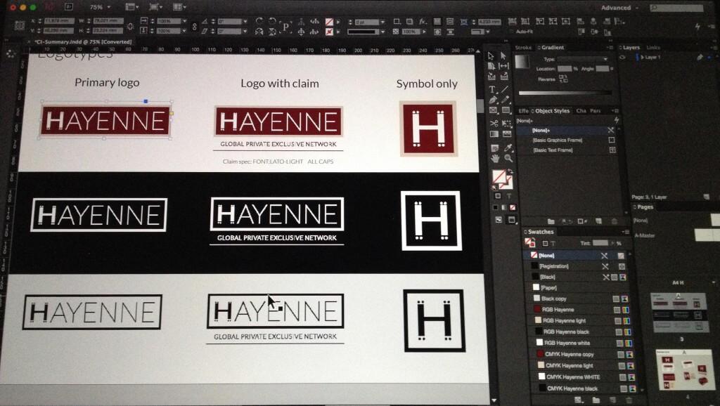 Hayenne - logo
