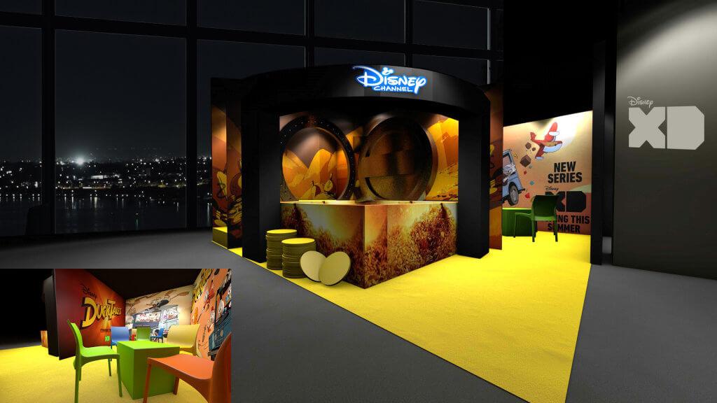 Disney  - plac zabaw Wujka Sknerusa