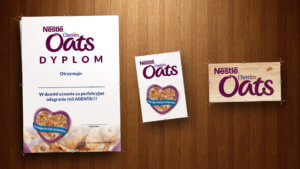 Dyplomy dla Nestle Oats
