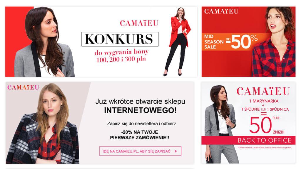 Camaieu - grafiki SM i www